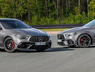 MERCEDES-AMG A45 S & CLA 45 S