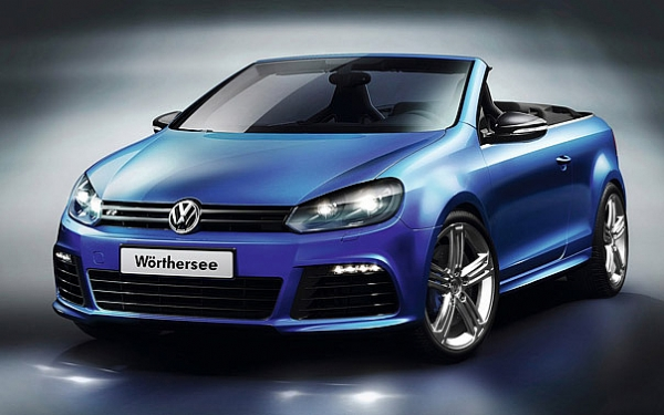 VW GOLF R CABRIOLET CONCEPT
