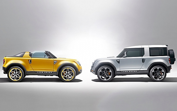 LAND ROVER DC100 & DC100 SPORT