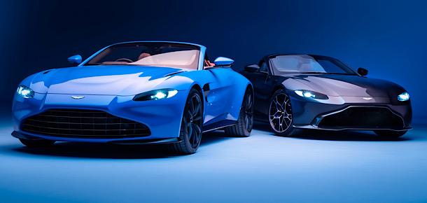Aston Martin Vantage üstünü açtı