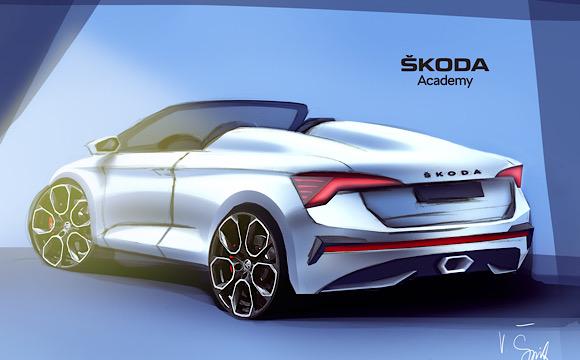 Skoda Akademi, SCALA'nın Spider versiyonunu tasarlıyor