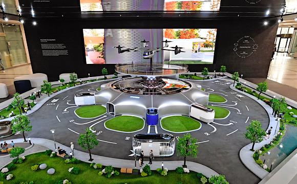 Hyundai akıllı mobilize ekosistemini sergiliyor