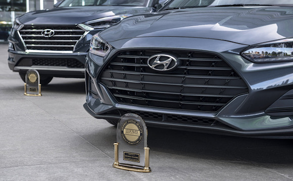 Hyundai Tucson ve Veloster'a kalite ödülü!