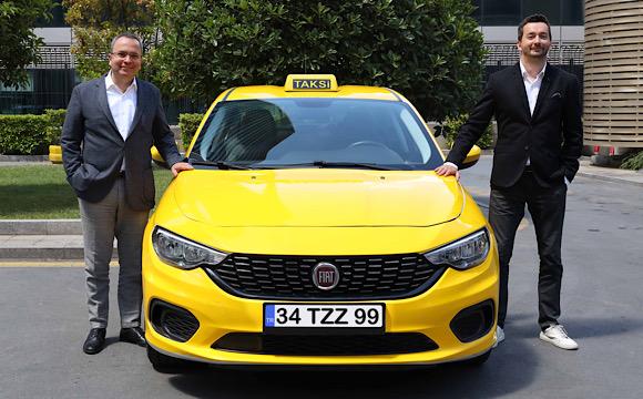 BiTaksi ve Fiat'tan kabinli taksi işbirliği