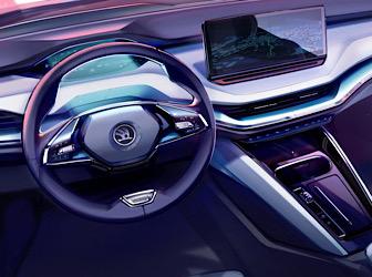 Skoda'nın elektrikli SUV modeli 1 Eylül'de tanıtılacak