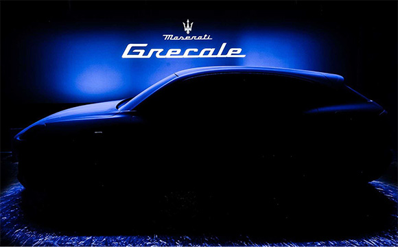 Maserati yeni SUV modelinin siluetini gösterdi