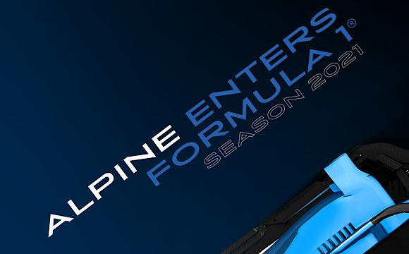 Alpine markası Formula 1'e adım atıyor