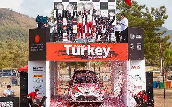 WRC Türkiye Rallisi'ni Elfyn Evans kazandı