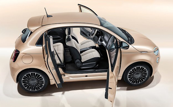 Fiat 500e'ye 3+1 versiyon!