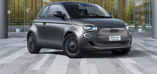 Elektrikli Fiat 500'e Red Dot ödülü