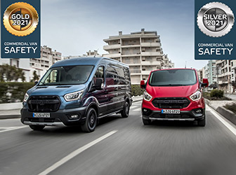 Euro NCAP'ten Ford Transit'e iki ödül birden