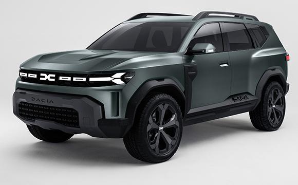 Dacia yeni SUV konseptini tanıttı