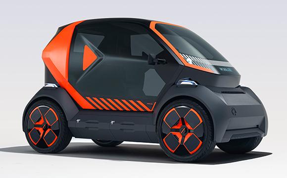 Bu konsept paylaşımlı mobilite için tasarlandı