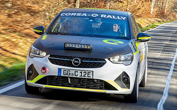 Opel e-Rally Cup'ın yarış takvimi belli oldu