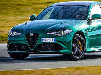 Alfa Romeo Giulia'ya