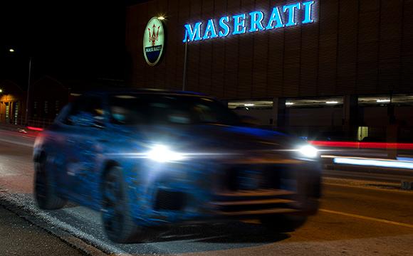 Maserati'nin yeni SUV prototipi görüntülendi