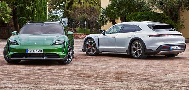 Porsche Taycan Cross Turismo tanıtıldı