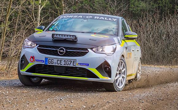 Opel, Corsa-e Rally için özel motor sesi geliştirdi