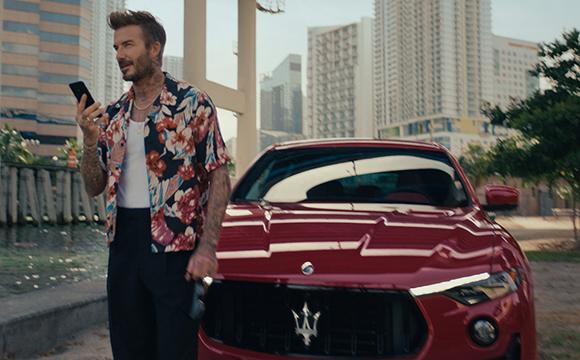Maserati,  David Beckham ile iş birliği gerçekleştirdi