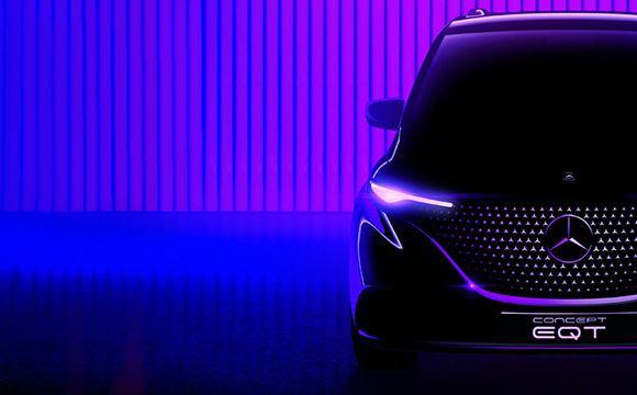 Mercedes-Benz'den elektrikli Hafif Ticari Araç modeli