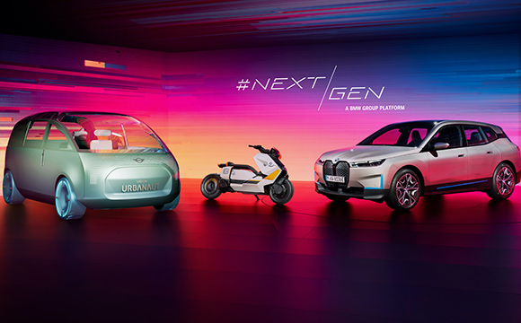 BMW iX'in dijital lansmanına