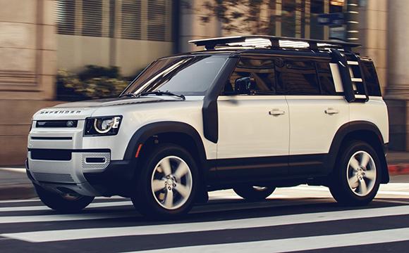 Land Rover Defender'a tasarım ödülü!