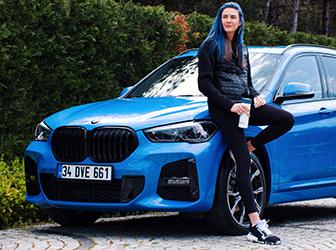 BMW, Milli Voleybolcu Meryem Boz ile iş birliği yaptı