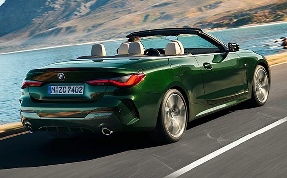 Yeni BMW 4 Serisi Cabrio Türkiye'de...