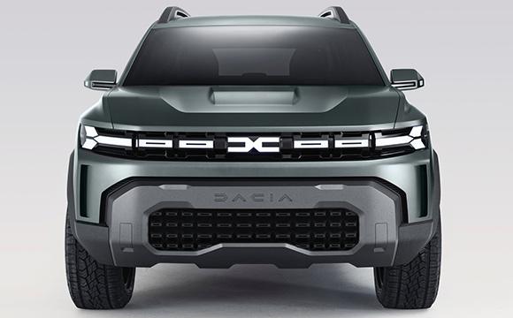 Dacia yeni görsel kimliğini tanıttı