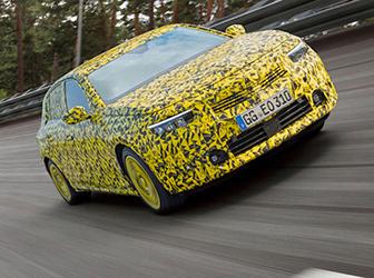 Yeni Opel Astra test sürecinin sonuna geldi