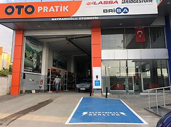 Otopratik'ten şarj istasyonu yatırımı...