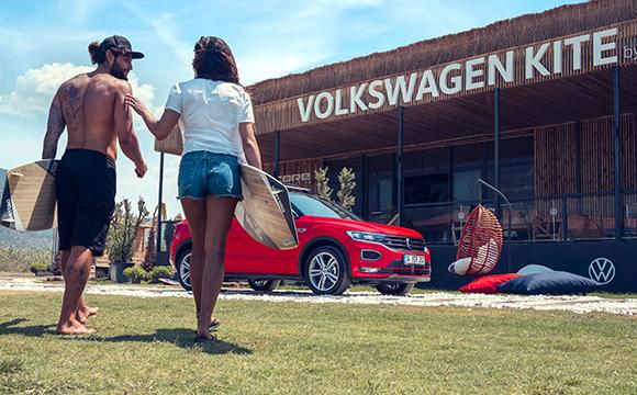 Volkswagen ve Kiteboard Akyaka'da buluştu