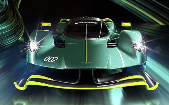 Aston Martin Valkyrie AMR Pro piste çıkıyor