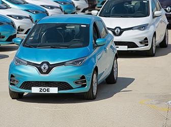 Renault MAİS'ten TikTak'a 400 adetlik ZOE satışı