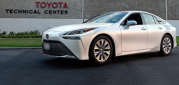 Toyota Mirai menzil rekoru kırdı