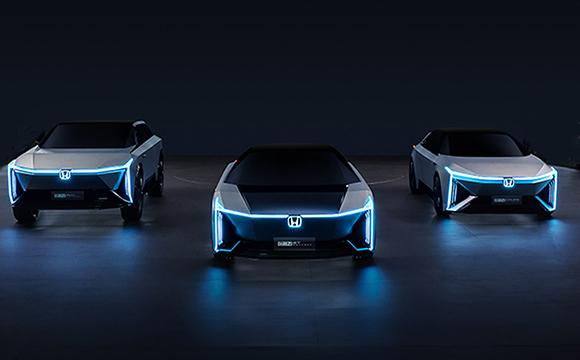 Honda'dan e:N isimli elektrikli model serisi...