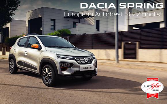 Dacia Spring AUTOBEST finalinde...