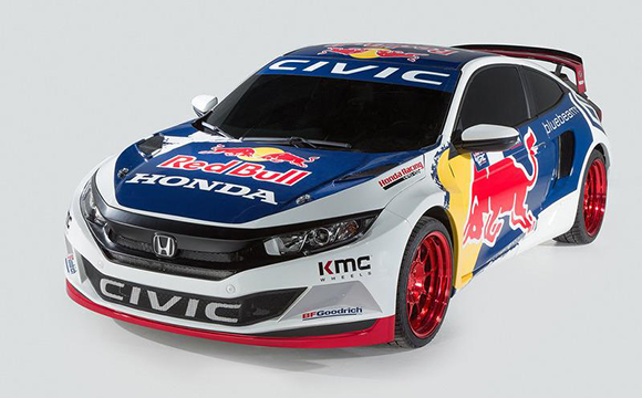 Honda, 2016 Red Bull Global RallyCross'ta yer alacak