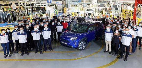 Toyota Yaris Cross Fabrikasından Görüntü