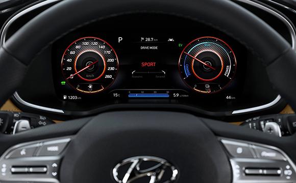 Hibrit Motorlu Hyundai Santa Fe