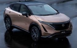 Nissan elektrikli SUV modeli Ariya'yı tanıttı