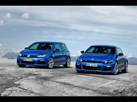 VW Golf R ve VW Scirocco R